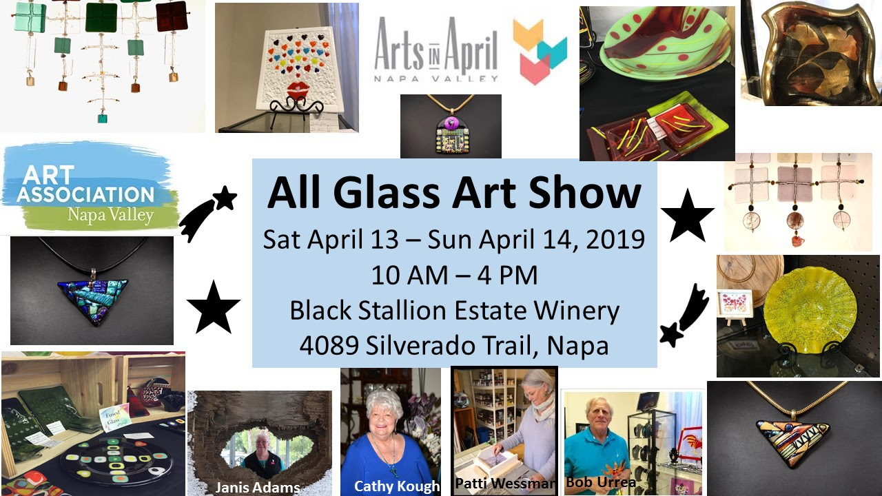 ALL GLASS ART SHOW IN APRIL 2019