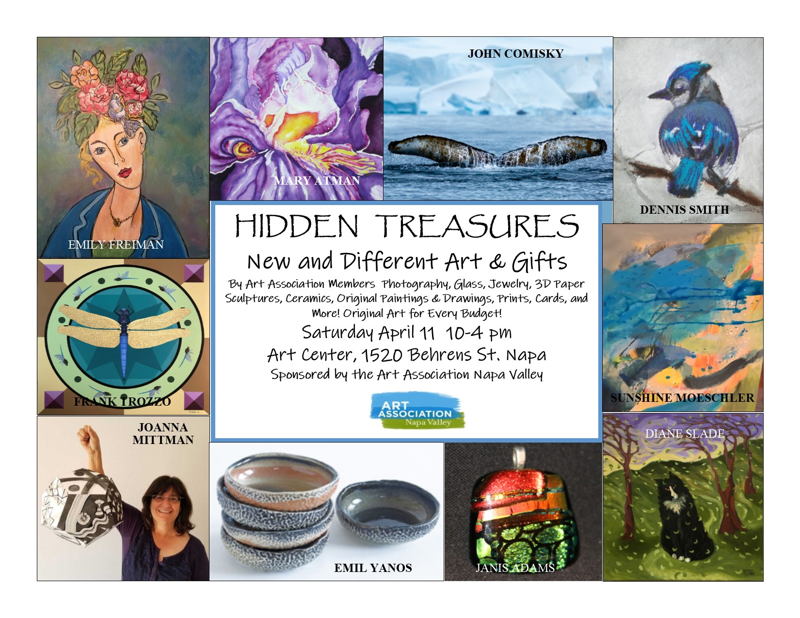 POSTPONED – Hidden Treasures 2020