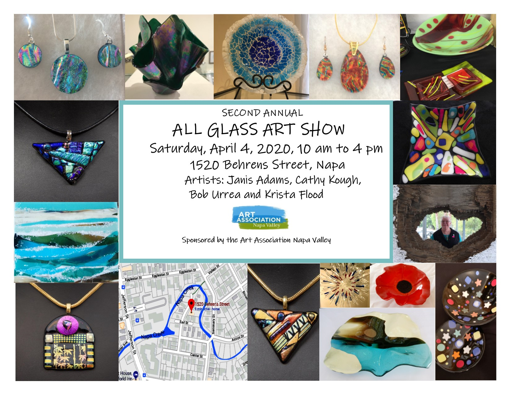 POSTPONED – Second Annual All-Glass Show and Sale