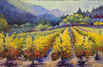 CALL FOR ART- Yountville Sip and Stroll